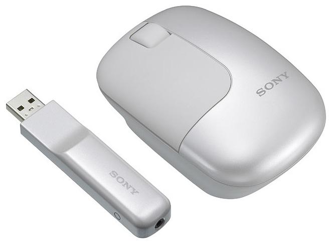 Мышь Sony SMU-WC3 White USB