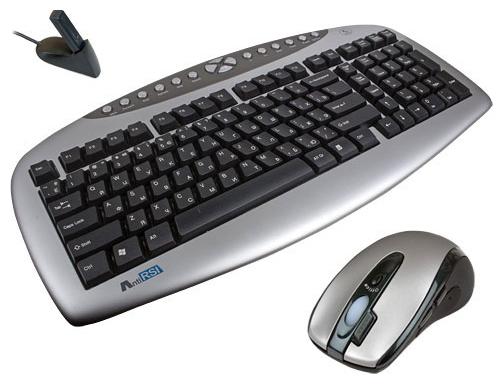 Комплект клавиатура + мышь A4 Tech RKS-2170D Silver-Black USB