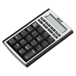 Клавиатура Acer Keypad with calculator function Black USB