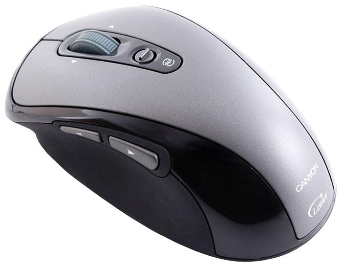Мышь Canyon CNR-MSL6 Silver-Black USB