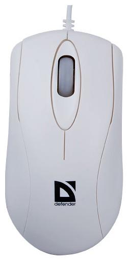 Мышь Defender E 2530 White PS/2 фото #1