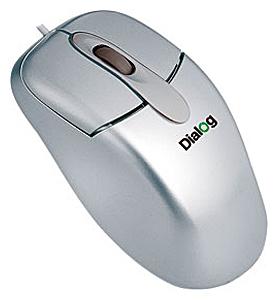 Мышь Dialog MC-04SP Silver PS/2