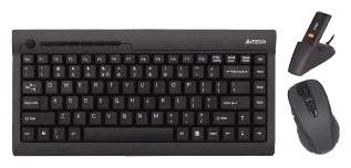 Комплект клавиатура + мышь A4 Tech GK-670D Black USB