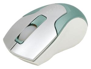 Мышь e-blue EMS049G00 Silver-Green USB+PS/2