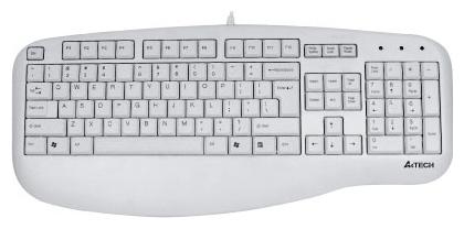 Клавиатура A4 Tech KL-30 White PS/2