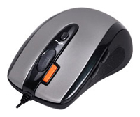 Мышь A4 Tech X6-70MD Silver-Black USB+PS/2