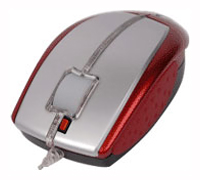 Мышь A4 Tech X5-22D Red USB+PS/2