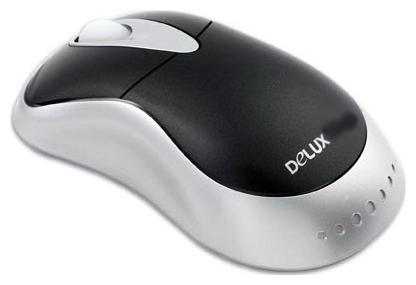Мышь Delux DLM-325BP Black-Silver PS/2 фото #1