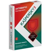 Kaspersky Anti-Virus 2013 Russian Edition. 2-Desktop 1 year Base DVD box