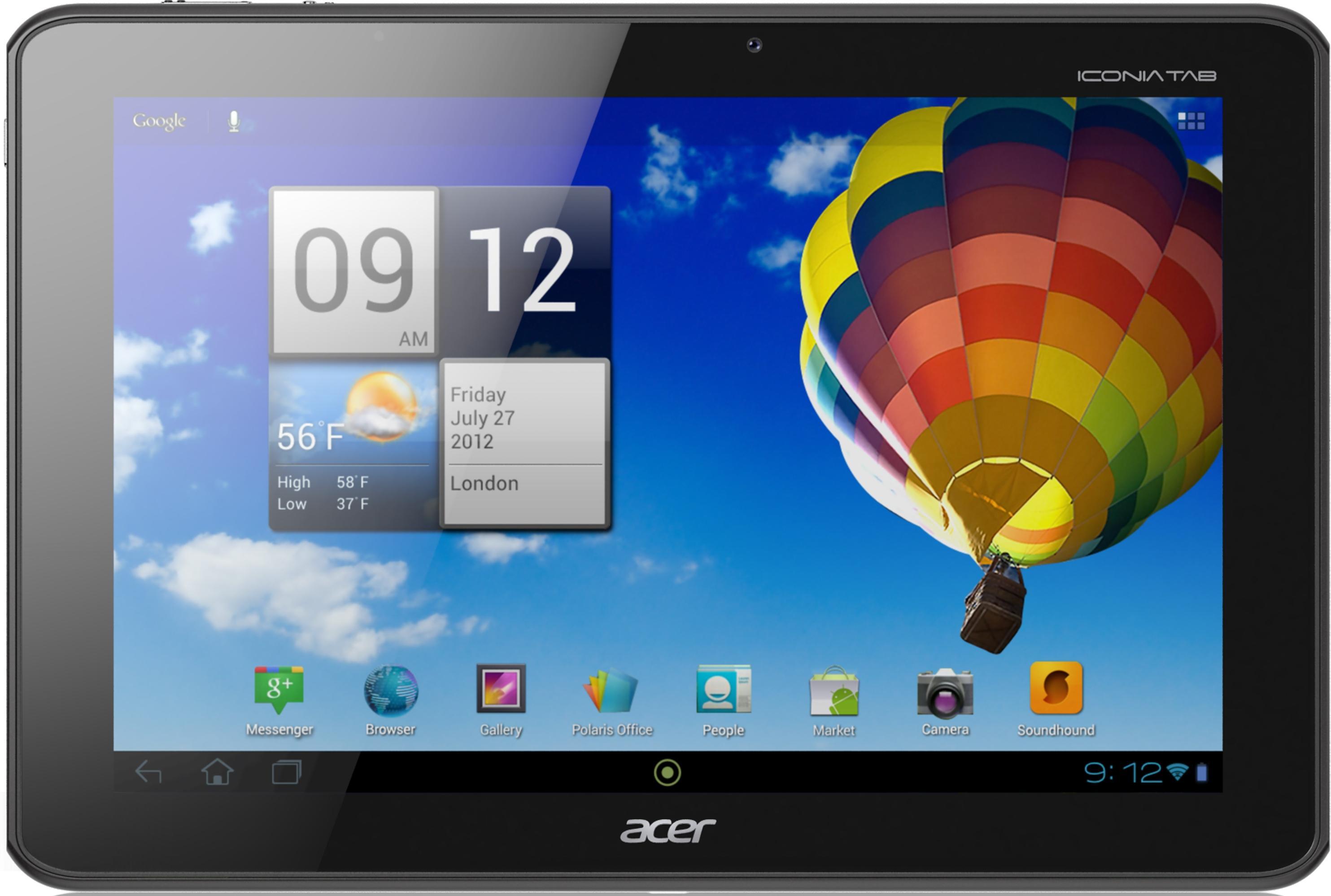 Iconia Tab 10  Планшеты  Новые впечатления  Acer