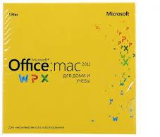Microsoft Office Mac Home Student 2011 Russian Russia Only EM DVD No Skype GZA-00317