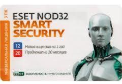 ESET NOD32 Smart Security + расширенный функционал - универсальная электронная лицензия на 1 год на 3ПК или продление на 20 месяцев