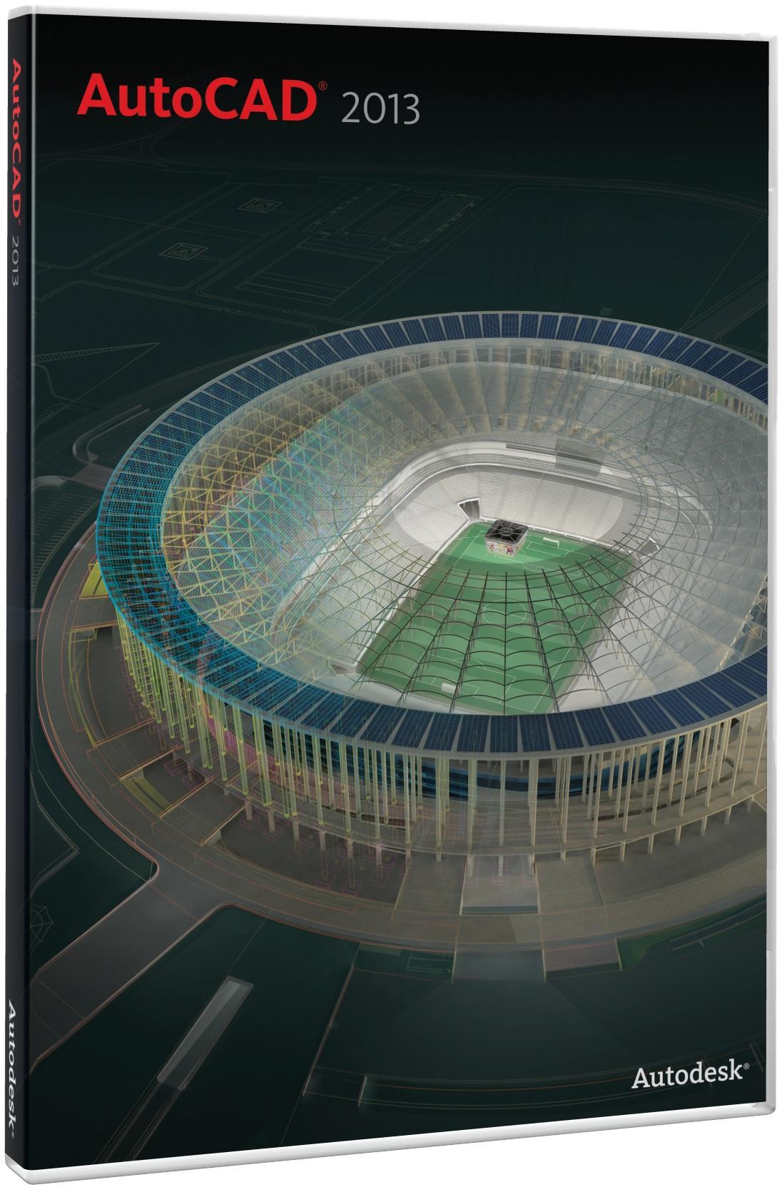 Autodesk Программное обеспечение AutoCAD 2013, коммерческий, локальный