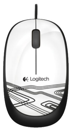 Мышь Logitech Mouse M105 White USB 910-003117