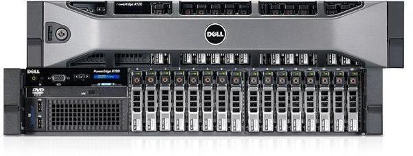 Сервер в стойку Dell PowerEdge R720xd