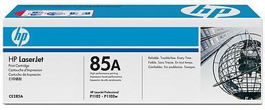 Лазерный картридж HP CE285AC черный технологическая упаковка фото #1