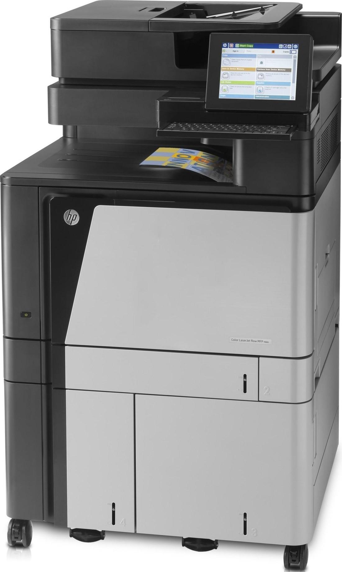 МФУ HP Color LaserJet Enterprise flow MFP M880z+