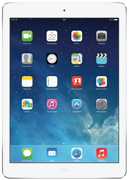 ������� Apple iPad Air 128Gb Wi-Fi + silver