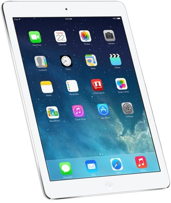 ������� Apple iPad Air 16Gb Silver Wi-Fi Cellular