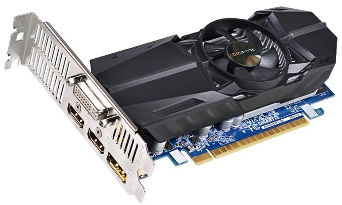 Видеокарта Gigabyte GeForce GTX 750 Ti 1033Mhz PCI-E 3.0 2048Mb 5400Mhz 128 bit DVI 2xHDMI HDCP GV-N75TOC-2GL