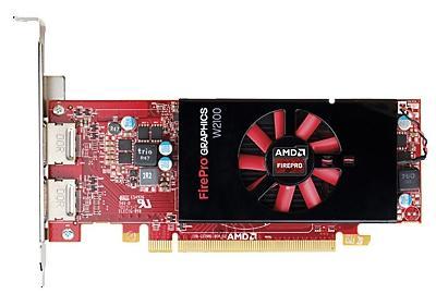 Видеокарта HP FirePro W2100 PCI-E 3.0 2048Mb 128 bit J3G91AA