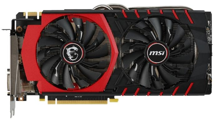 Видеокарта MSI GeForce GTX 980 1216Mhz PCI-E 3.0 4096Mb 7010Mhz 256 bit DVI HDMI HDCP GTX 980 GAMING 4G