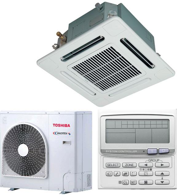 Кассетный Toshiba RAV-SM1404UT