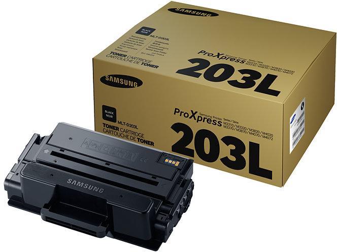 Тонер-картридж Samsung MLT-D203E/SEE черный