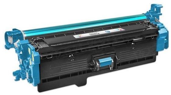 Тонер-картридж HP CF401A голубой