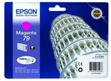 Тонер-картридж Epson C13T79034010 пурпурный