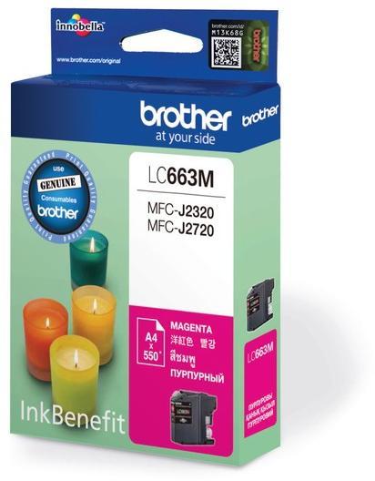 Струйный картридж Brother LC663BK черный