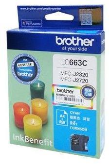 Струйный картридж Brother LC663C голубой