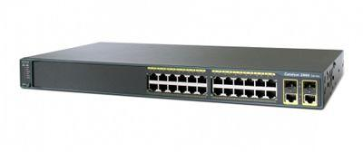 Коммутатор Cisco WS-C2960R+24TC-S