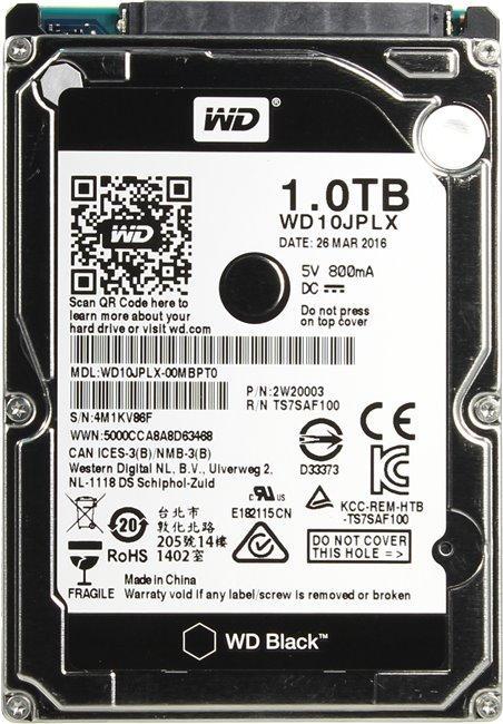 Жесткий диск Western Digital WD10JPLX