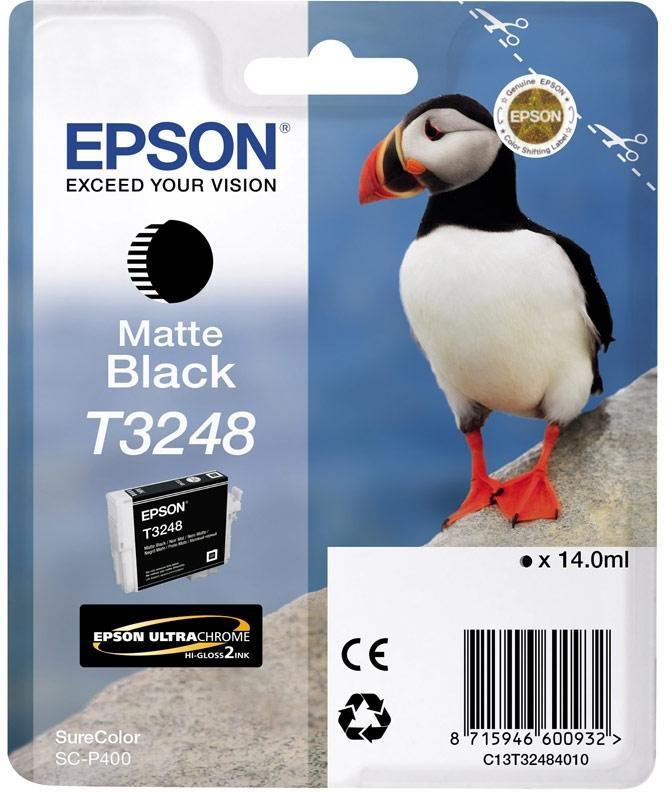 Струйный картридж Epson C13T32484010 черный матовый