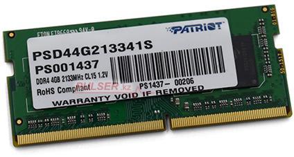 Оперативная память Patriot PSD44G213341S фото #1