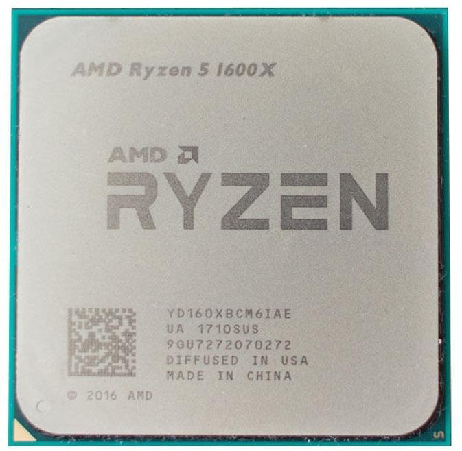 Процессор AMD Ryzen 5 1600X YD160XBCM6IAE фото #1