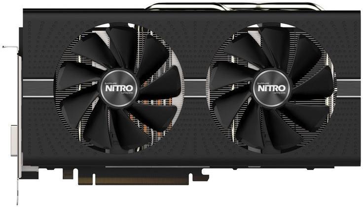 Видеокарта Sapphire NITRO+ Radeon RX 580 8GB GDDR5 DUAL HDMI/DVI-D/ DUAL DP