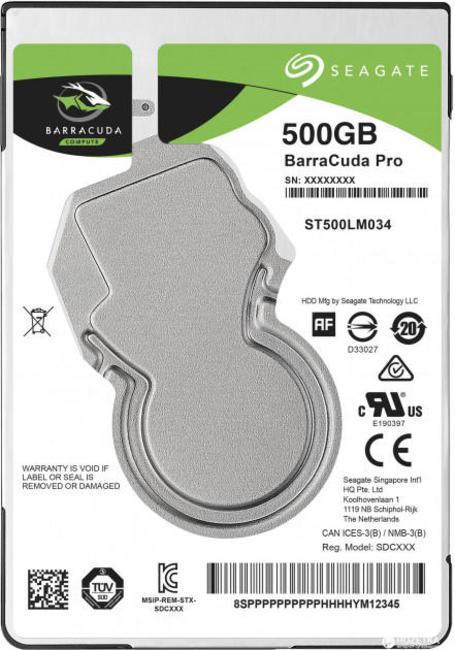 Жесткий диск Seagate ST500LM034