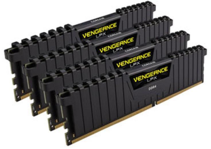 Оперативная память Corsair CMK64GX4M4A2400C14 фото #1