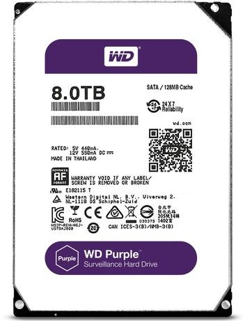 Жесткий диск Western Digital WD81PURZ