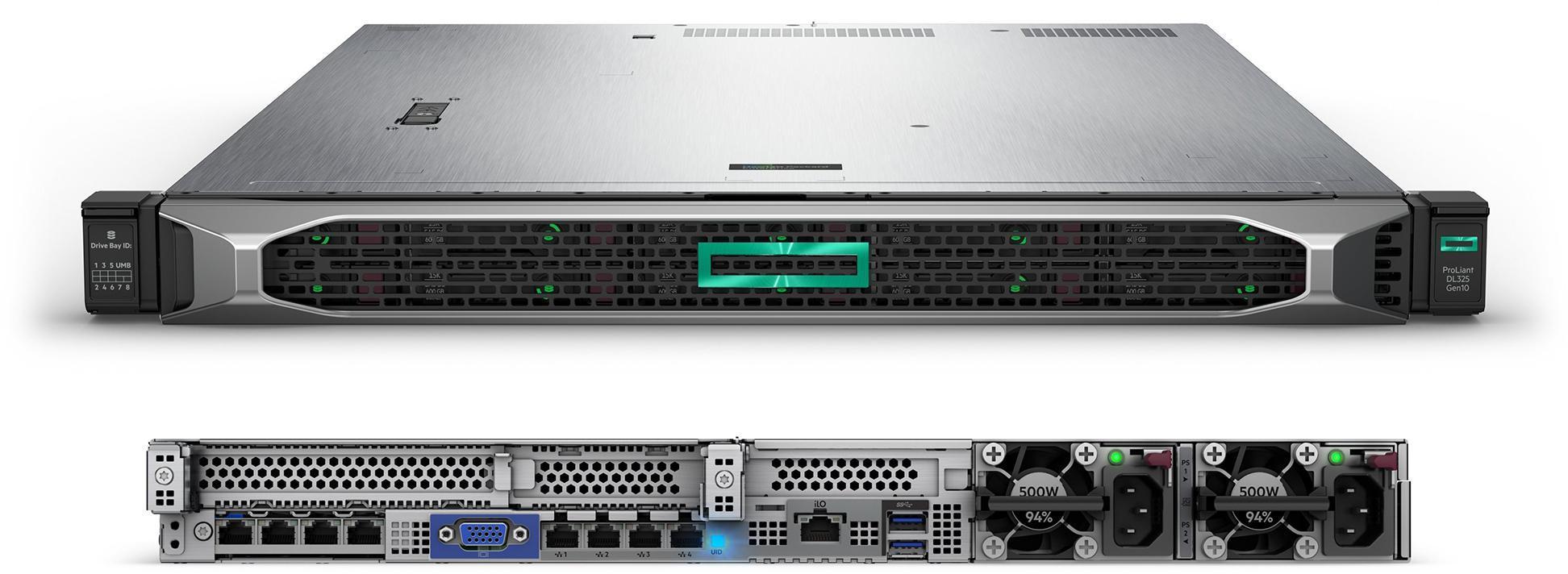 Сервер в стойку HP ProLiant DL325 G10