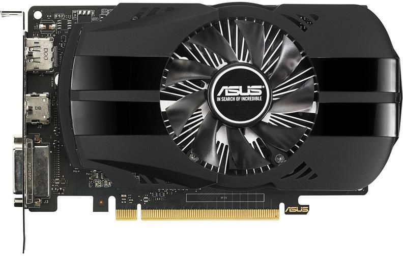 Видеокарта Asus GeForce® GTX 1050Ti 4GB PHOENIX 90YV0A70-M0NA00 фото #1