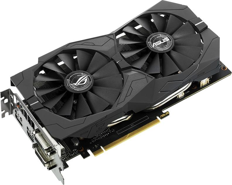 Видеокарта Asus GeForce® GTX 1050Ti 4GB ROG STRIX OC Edition 90YV0A30-M0NA00 фото #1