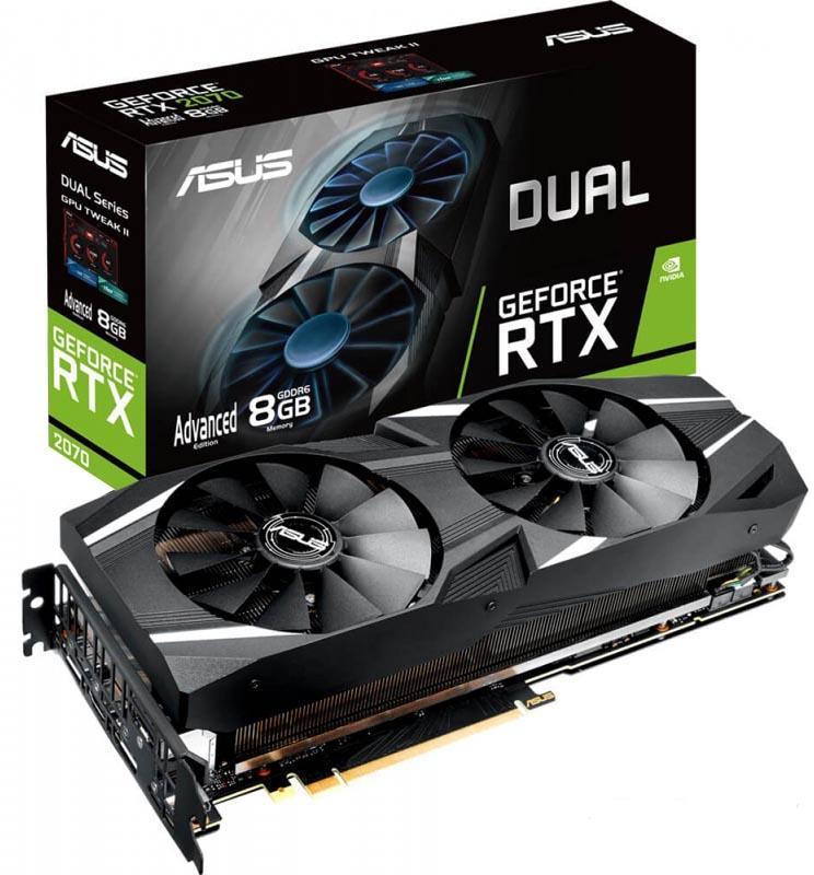 Видеокарта Asus nVidia GeForce RTX 2070