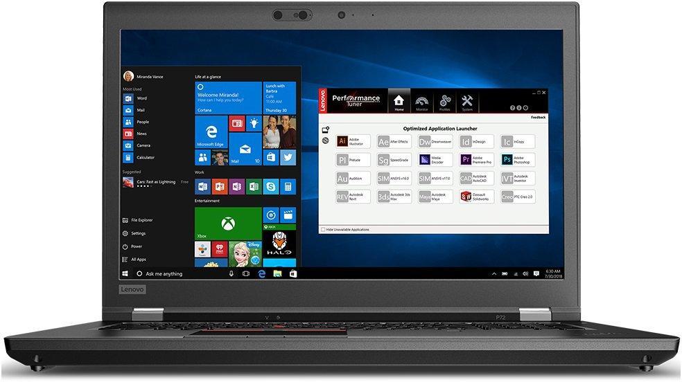 Ноутбук Lenovo ThinkPad P72