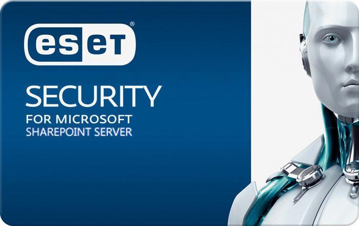 Защита почтовых серверов Eset Security для Microsoft SharePoint Server  для 9 пользователей