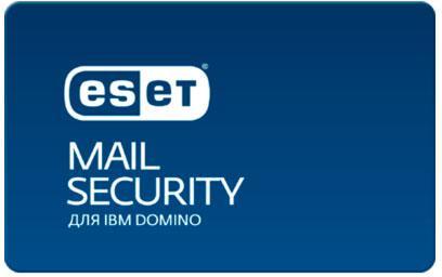 Защита почтовых серверов Eset Mail Security для IBM Domino  для 31 почтовых ящиков NOD32-DMS-NS-1-31 фото #1