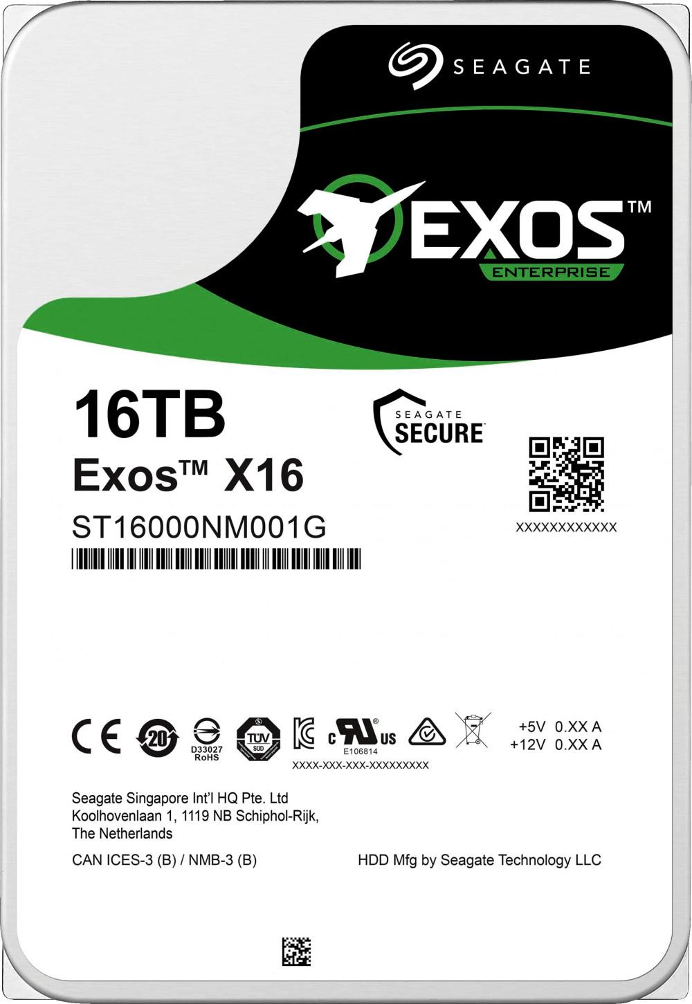 Жесткий диск Seagate ST16000NM001G