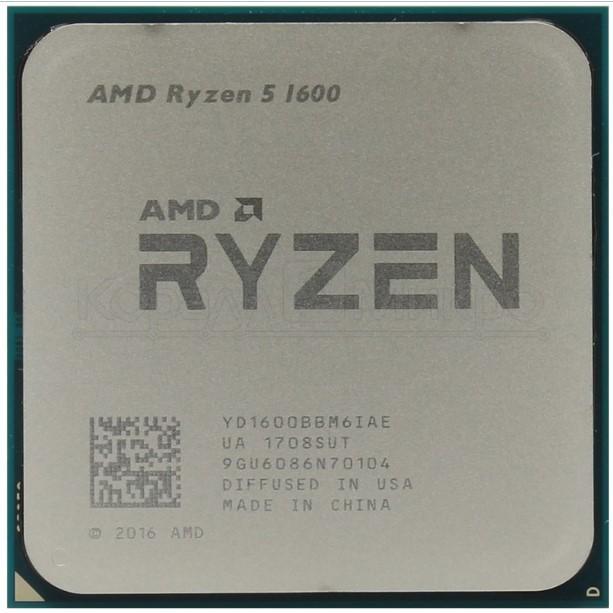 Процессор AMD Ryzen 5 1600 YD1600BBM6IAF фото #1